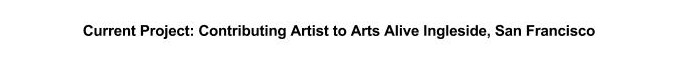 arts alive project info-website